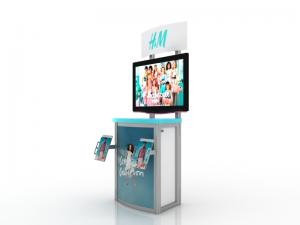 MOD-1249 Workstation/Kiosk for Trade Shows and Events -- Image 4