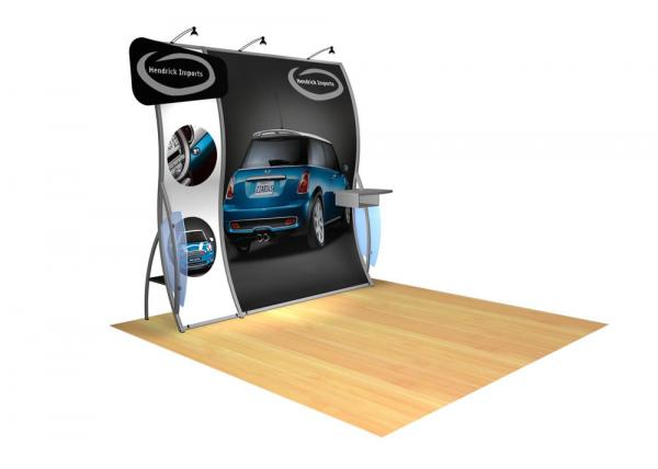 Perfect 10 VK-1503 Portable Hybrid Trade Show Display -- Image 1
