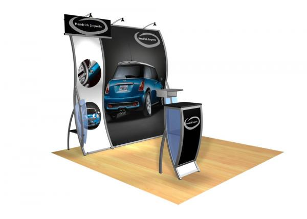 Perfect 10 VK-1504 Portable Hybrid Trade Show Display -- Image 1