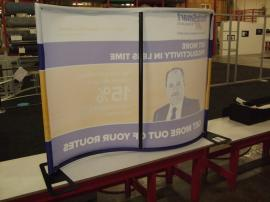 TF-405 Aero Table Top Display with Tension Fabric Graphics -- Image 2