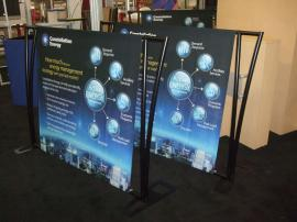 TF-402 Aero Portable Table Top Displays with Tension Fabric Graphics -- Image 1