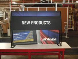 TF-404 Aero Table Top Portable Display with Tension Fabric Graphics -- Image 3