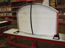 TF-406 Aero Table Top Display with Tension Fabric Graphics -- Image 2