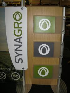 ECO-102T 6 ft. Table Top with custom Header Graphic Attachment by Eco-Systems Sustainable Exhibits -- Image 2