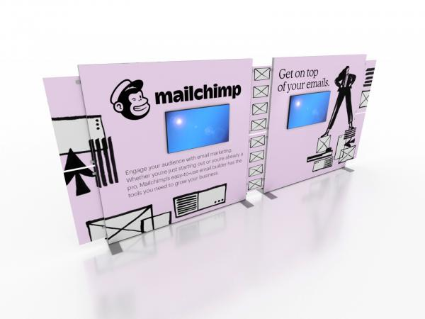 VK-2316 Portable Trade Show Display -- Double-sided -- Image 1