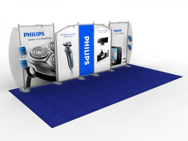 VK-2115 Portable Hybrid Trade Show Exhibit -- Image 1